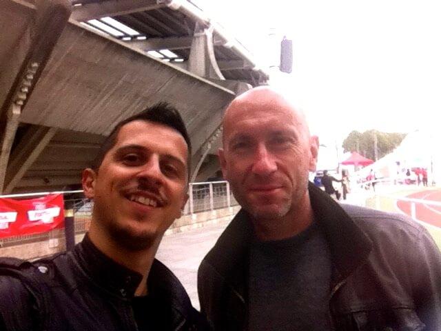 Avec Gilbert Brisbois, RMC