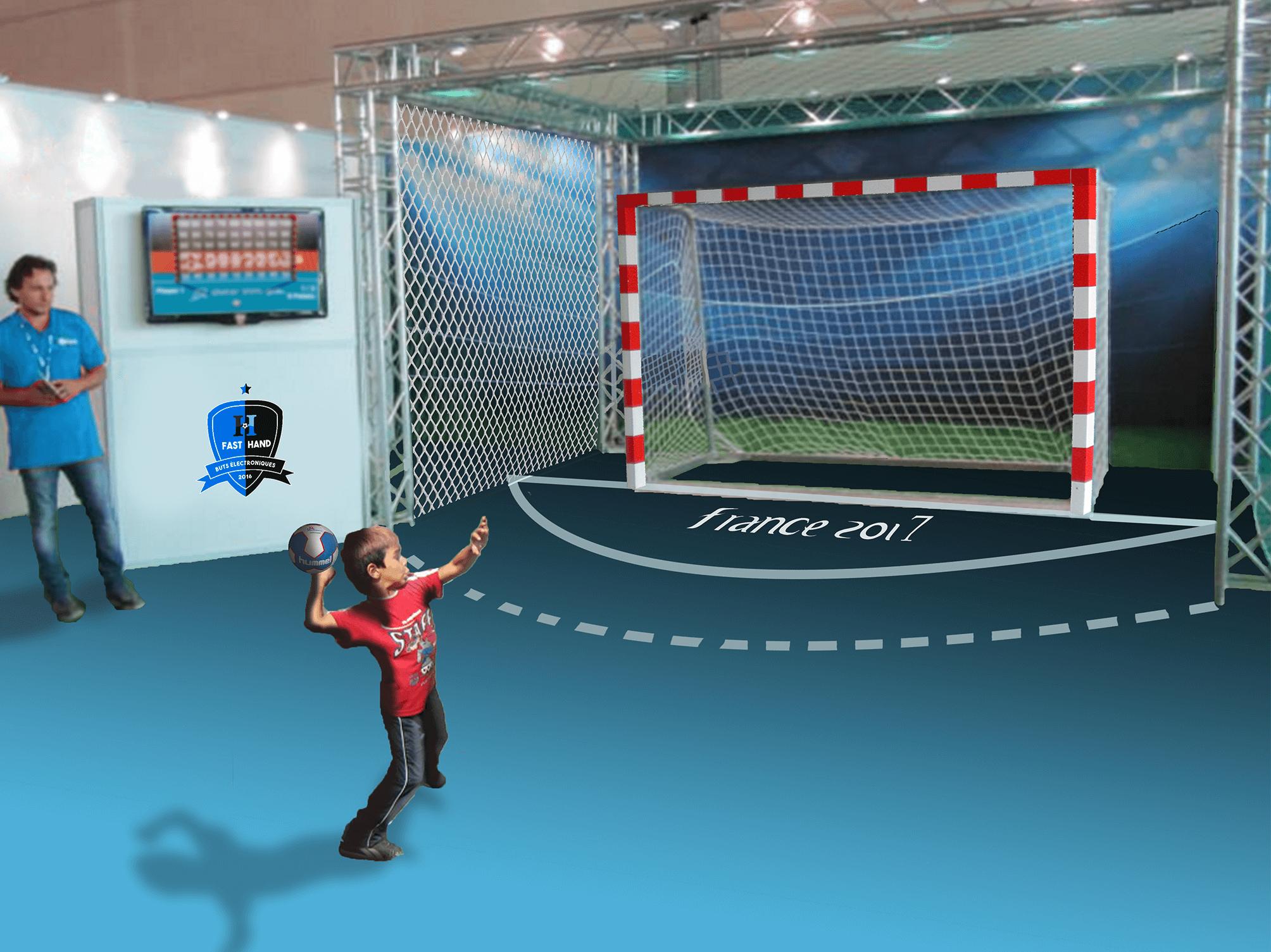 Une animation handball pas chère et accessible à tous.