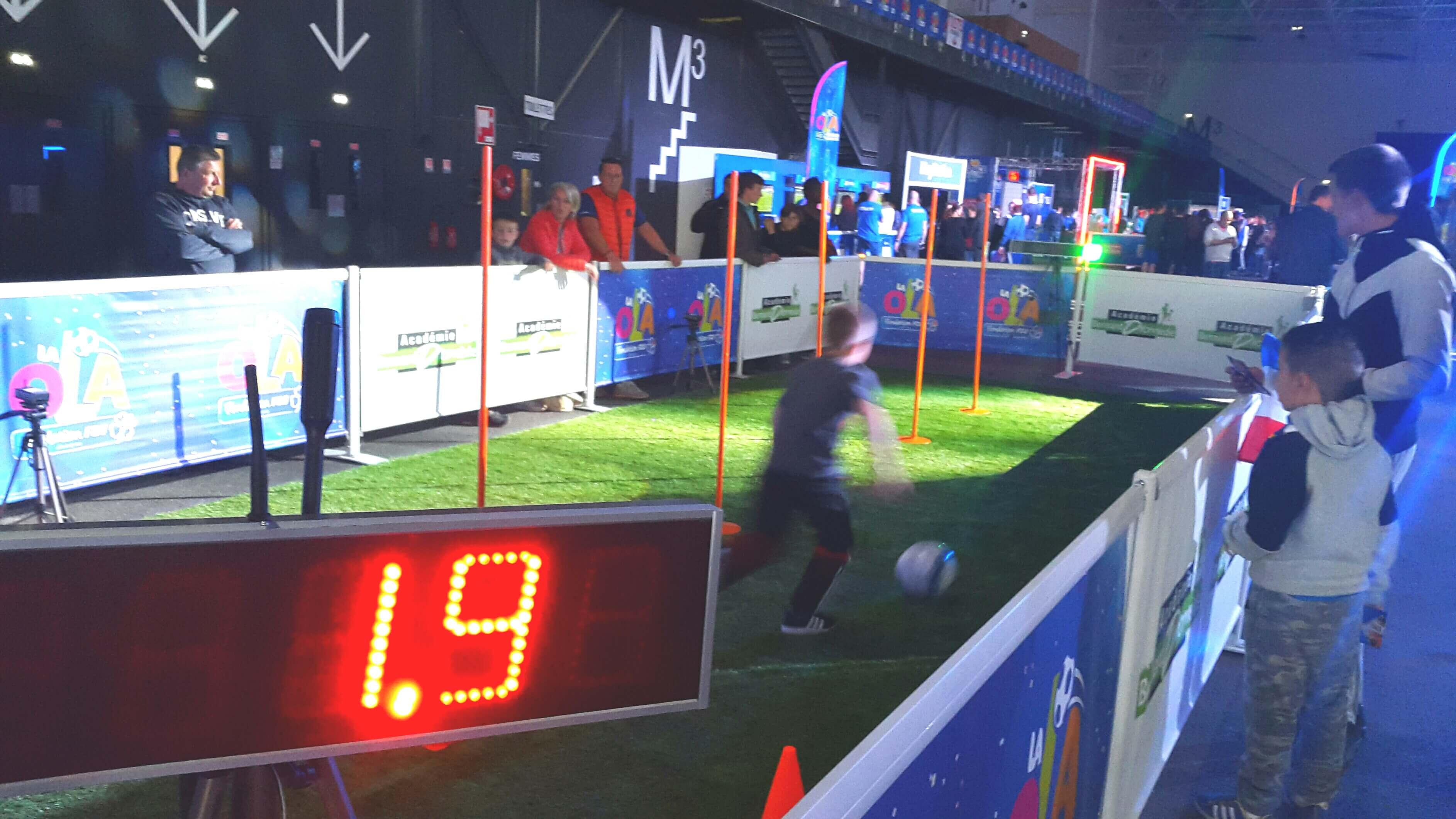 Parcours Radar Handball