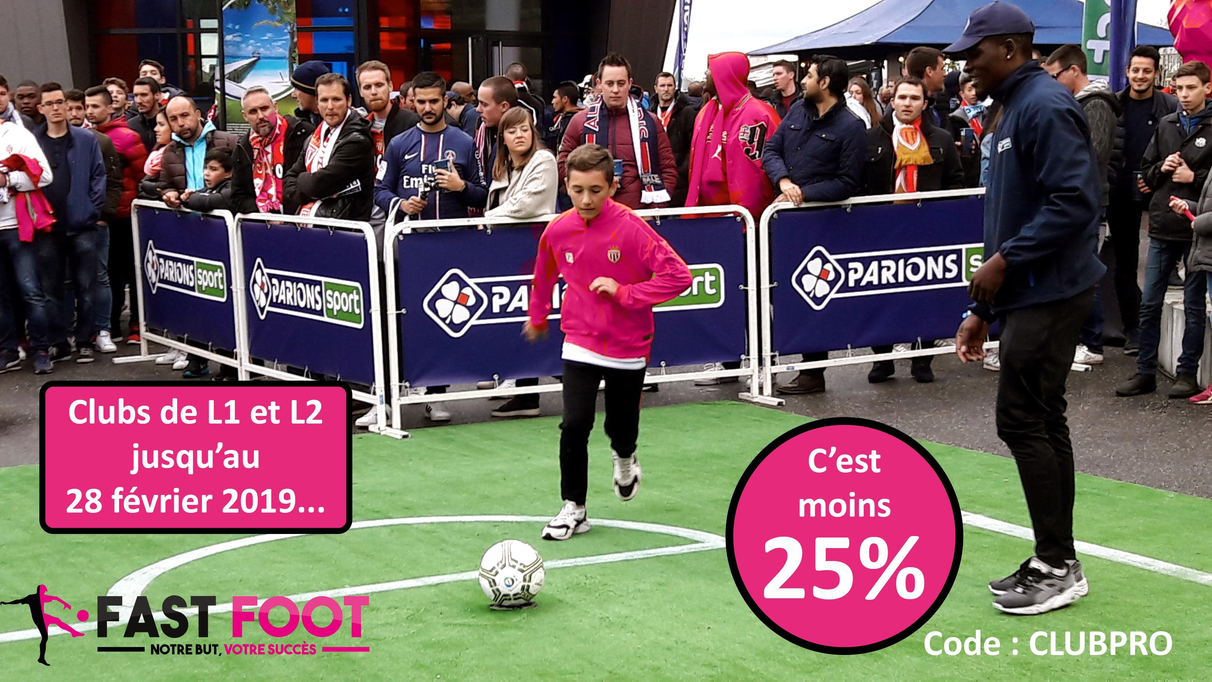 Promotion clubs Ligue 1 Ligue 2 pour 2019
