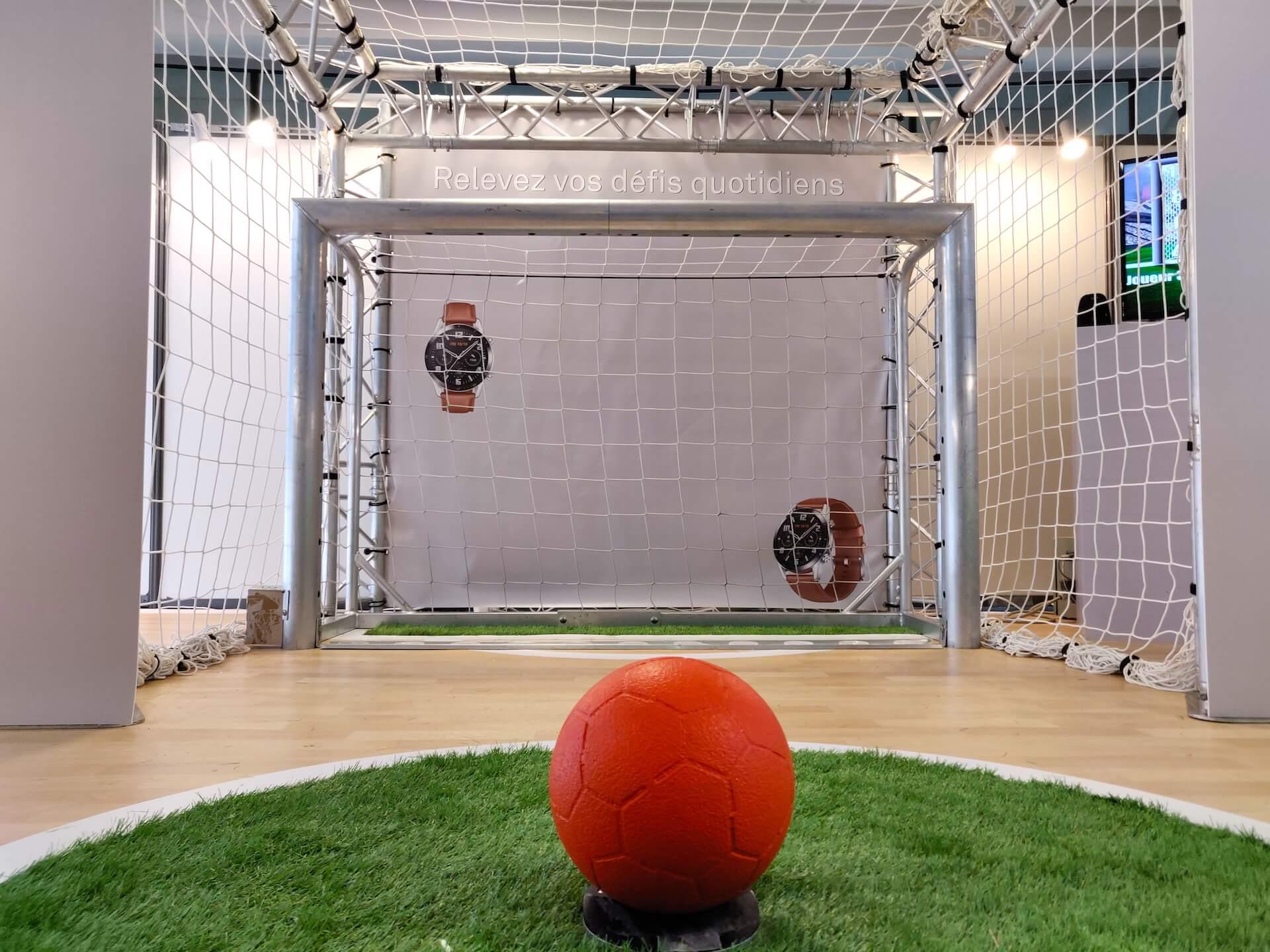 But simulateur ballon foot séminaires entreprises incentive Boulanger Huawei